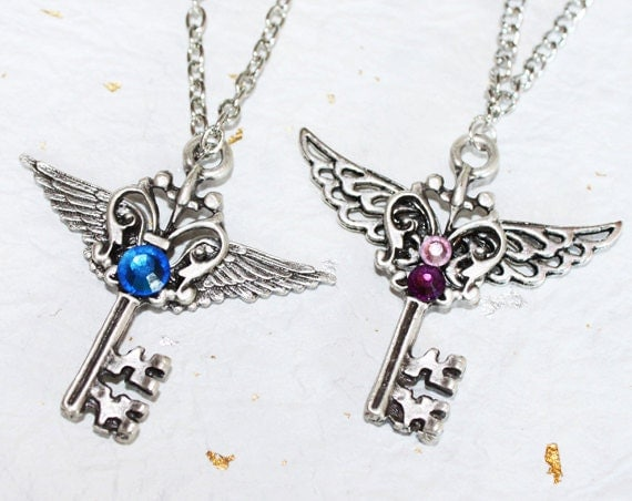 heart necklace for couples - photo #37