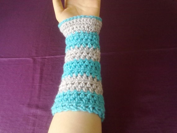 Cheshire Cat Color Armwarmers Set of 2