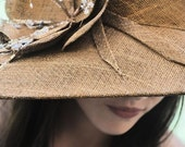 Bronze/Gold  Couture Hat