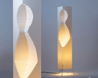 Lady, Nano Paper Lamp - wire stand