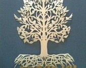 Tree of Life (Etz Hayim) paper cut