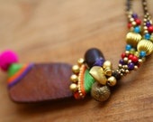 Asian-chic Necklace Fruit Of Nature