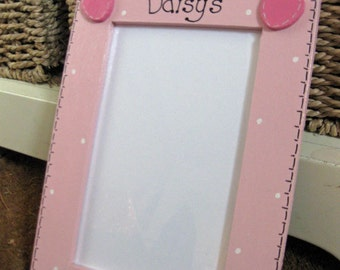 Child Friendly Personalised Wooden Picture Frame