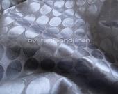 "silk fabric, ellipse pattern jacquard silk cotton blend fabric, 2 yards by 54"" wide"