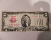 1928D US Two Dollar Banknote Very Fine