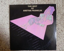 The Best of Aretha Franklin Vinyl LP Record
