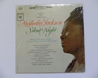 Mahalia Jackson Silent Night Vinyl LP Record
