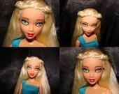 Daenerys Targaryen Custom Doll Repaint Barbie My Scene OOAK Mother of Dragons