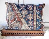 Blueberry Oriental Rug Pillow No. 9