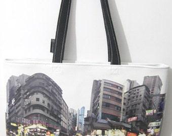 Panorama Double Faced Bag No.1 - Portland Street