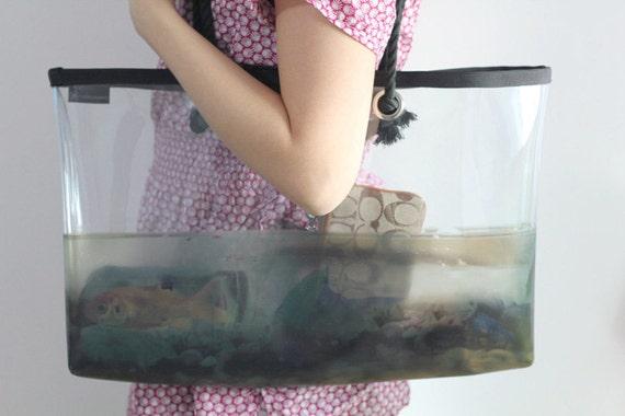 Lucid Series Beach Bag No.6 - Fish Tank