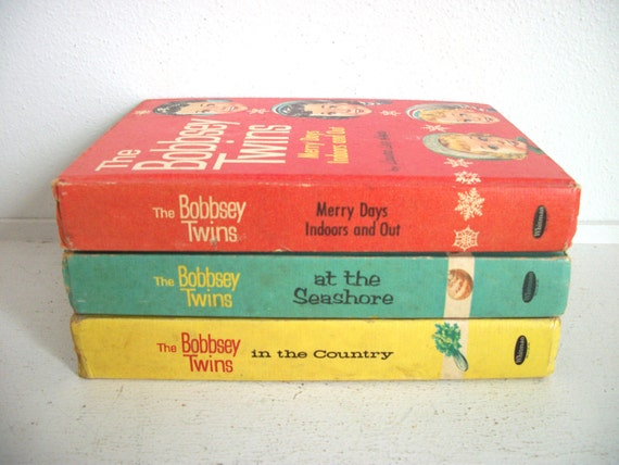 Vintage Set of Bobbsey Twins Books