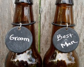 Matt's Chalkboard Beer Tags - for the home