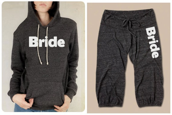 Vintage Bride Sweatpants and Hooded Pullover