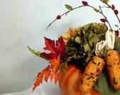 Modern Harvest - Fall, Autumn Flower Arrangement, Centerpiece