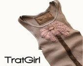 Womans Tank Brown Urban Chic By TratGirl Trend 2012