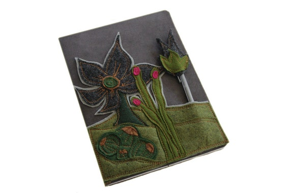 Removable book cover desert journal by tratgirl