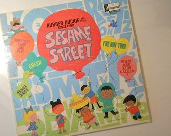 Vintage Sesame Street Record Album by Disneyland Records