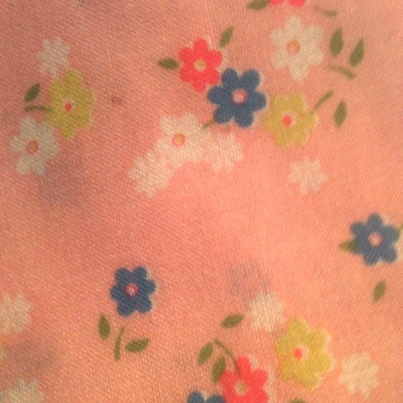 Vintage Quilting Fabric 1970s