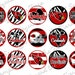 Arizona Cardinals inspired sassy digital bottle cap images (square and tile images available)