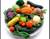 Vegetable Show Display