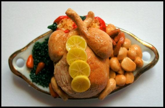 Lemon Chicken Roast Dinner