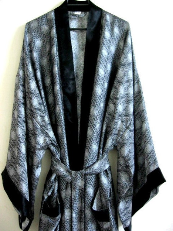 Silk Kimono Robe for Men - Reserved Listing for Megan
