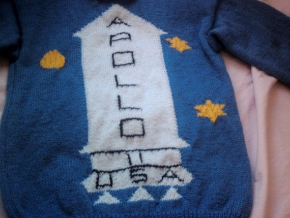 Knitted Kubrick Apollo sweater from the Shining/adult size