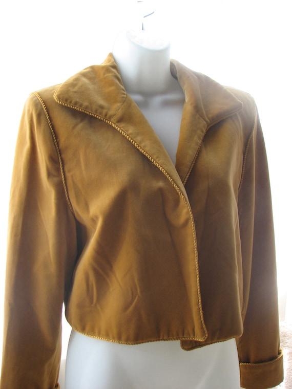 Clearance item.......Velvet Saks Fifth Avenue Cropped Jacket