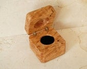 Custom for Adam-Ring Box made from Figured Maple