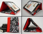 Tablet Stand and Cover - Custom Fit for any Tablet - Quilted & Padded Cover and Stand for iPad, Xoom, Kindle Fire, Galaxy, and More