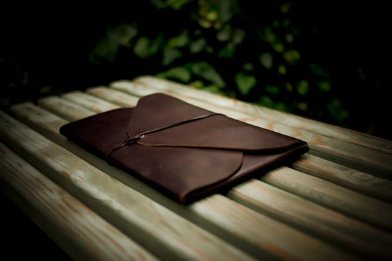 STANDARD size leather folio
