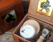 Mens Shaving Kit CIgar Box Beer Soap, Mens Gift, Shaving Kit, Shaving Set