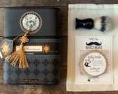 Shaving Kit, Boar Brush, Cigar Box, Beer Soap,