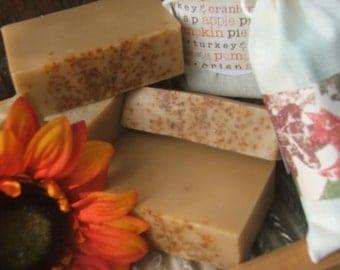 Pumpkin Handmade Soap 3 Bars