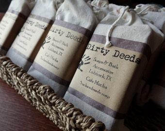 Cafe Mocha Handmade Soap 3 Bars