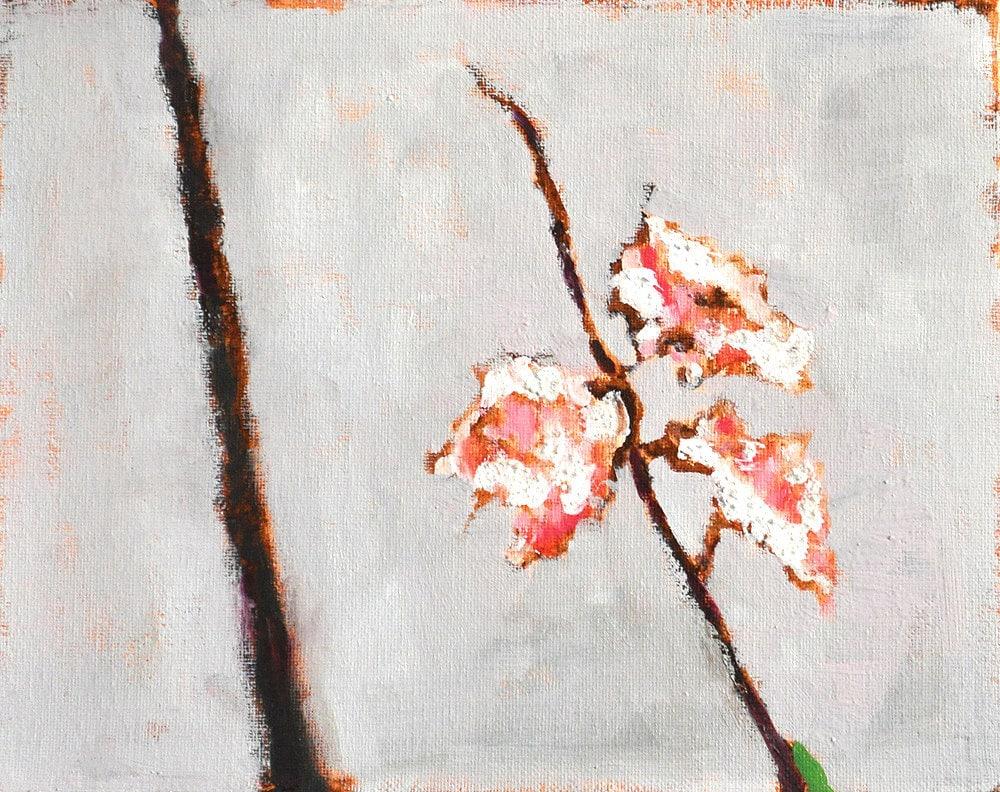 Flower Painting Cherry Blossoms Original Fine Art