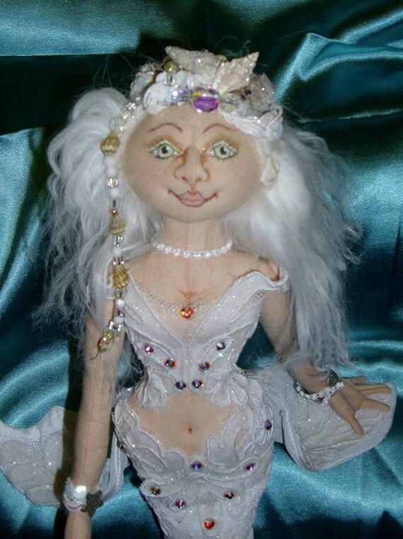 Pearl White Mermaid
