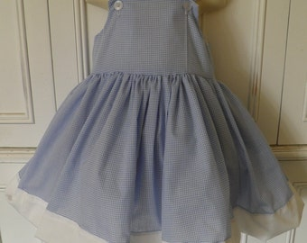 Dorothy The Wizard of Oz Boutique Dress Halloween Costume Size 2T 3T 4T 5 6