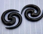 Organic Earrings - 2 Gauge 7mm - 12