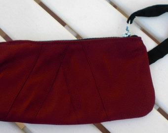 Recycled Necktie Clutch