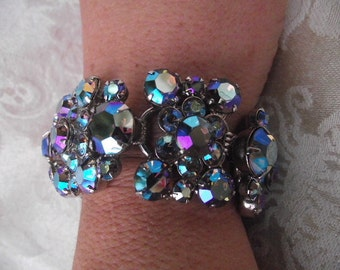 Juliana Vintage blue rainbow bracelet