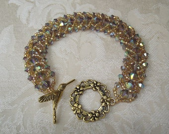 Beaded Swarovski Crystal Bracelet