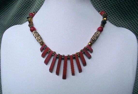 Jasper Tribal Necklace