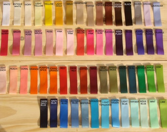 100 yards of Satin Ribbon: favors wedding wands streamers birthday party baby shower