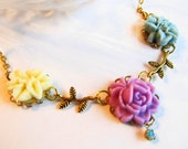 Pastel Vintage Dreamy Necklace