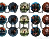 Brave 1inch bottle cap images