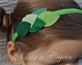 Forest Fairy Leaves Headband