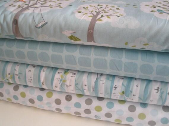 Backyard Baby by Patty Sloniger 1/2 yard Fabric Bundle, 4 prints, 2 yards total