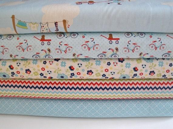 Dress Up Days Fabric by Riley Blake 1/2 yard bundle, 5 prints, 2.5 yards total